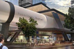 Hyperloop-гостиница доставит ваш номер в нужный город (фото)