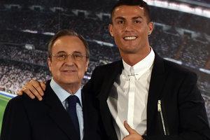 """Криштиану Роналду покинет """"Реал"""", если за него заплатят один миллиард евро"""