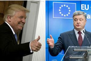 Березовец: Трампу выгодна встреча с Порошенко