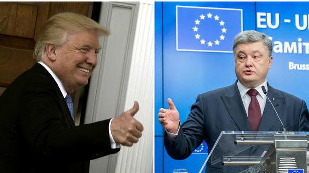 The Guardian раскрыла новые подробности встречи Трампа и Порошенко