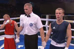 Николай Буценко вышел в четвертьфинал боксерского чемпионата Европы
