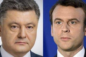 В ближайшее время Порошенко встретится с Макроном – посол Франции