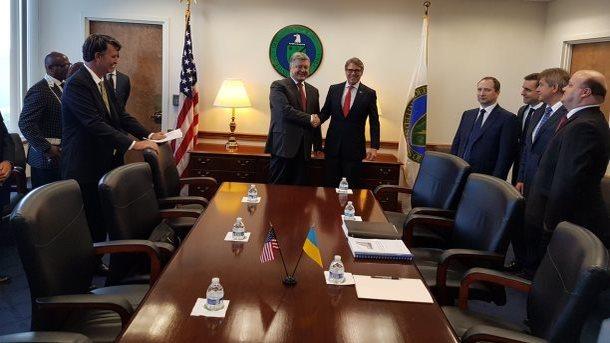 Порошенко встретился с министром энергетики США