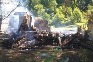 На Закарпатье во время пожара погиб мужчина