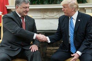 Перша зустріч Порошенка і Трампа: що обговорювали і про що домовилися президенти