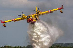 В Португалии разбился тушивший пожар самолет