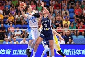 Сборная Украины проиграла Словакии в 1/8 финала Евробаскета-2017