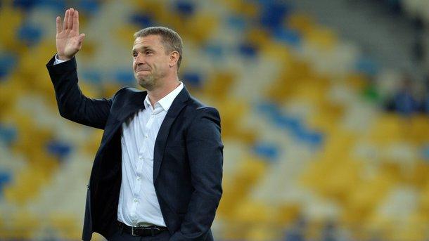 Сергей Ребров. Фото AFP