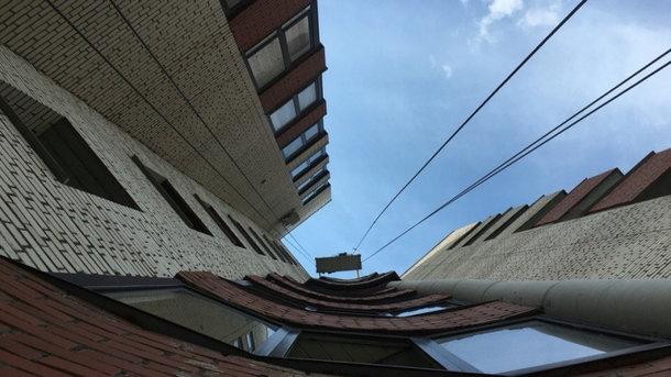 Мужчина упал с 13-этажа. Фото: riafan.ru
