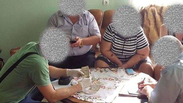 Во время задержания. Фото: zak.gp.gov.ua