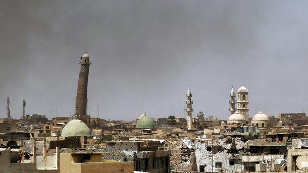 Боевики ИГИЛ взорвали одну из исторических мечетей Ирака, фото AFP