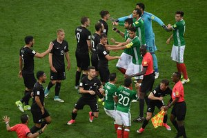 Мексика одержала волевую победу над Новой Зеландией в Кубке Конфедераций-2017