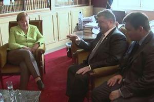 Стало известно, что обсуждают Порошенко с Меркель