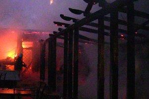 В Черновцах пылал ресторан