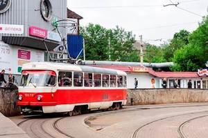 В Киеве временно отменят скоростной трамвай №1