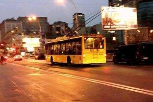 В Киеве ночной троллейбус №92Н временно изменит маршрут