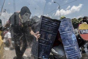 В Венесуэле напали на парламент, есть пострадавшие