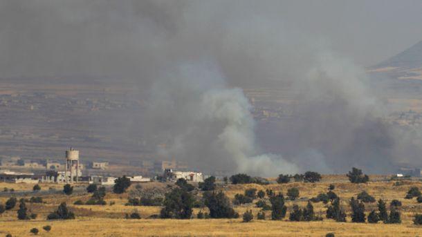 Израиль нанес ответный удар по Сирии