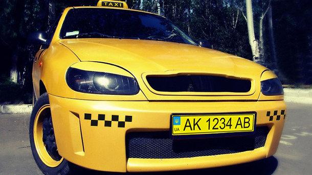 Такси в Украине получат номера желтого цвета