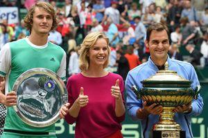 Федерер стал самым возрастным чемпионом в истории турнира в Галле