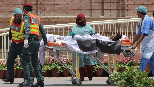 Шестеро детей погибли при взрыве бомбы-игрушки вПакистане