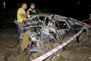 Подробности масштабного ДТП в Киеве на Кольцевой: двое пострадавших, повреждены четыре авто
