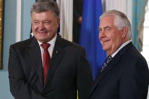 Порошенко сообщил о визите Тиллерсона в Киев в июле