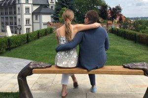 Катя Осадчая и Юрий Горбунов провели романтические выходные во Львове