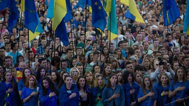 Хотятли украинцы вЕС иНАТО: размещены результаты показательного опроса