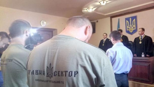 Стрельба вМукачево: сбойцов Правого сектора сняли ряд обвинений