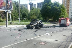 Взрыв авто в Киеве: в Минобороны назвали имя погибшего военного