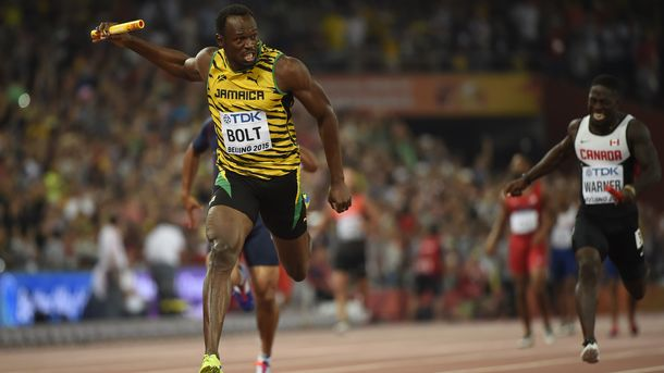 Усейн Болт - рекордсмен мира в спринте. Фото AFP