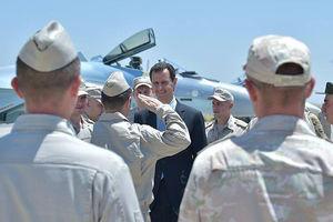 Асад попробовал себя в роли пилота российского истребителя