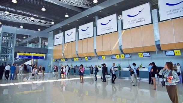 Из-за хакерской атаки регистрацию ваэропорту Харькова перевели вручной режим