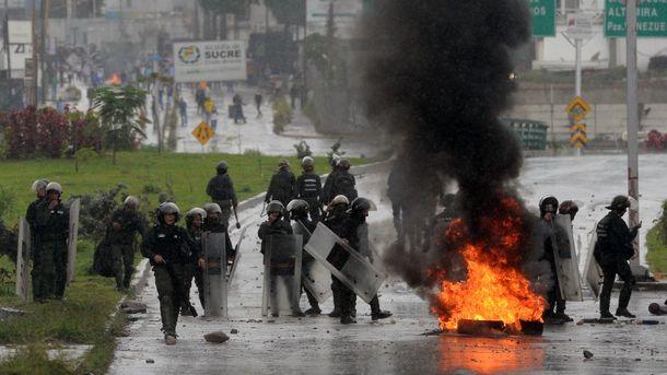 Власти Венесуэлы отыскали угнанный вертолет
