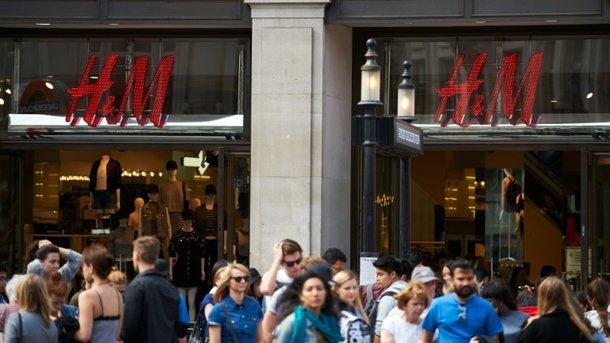 H&M открывается в Украине