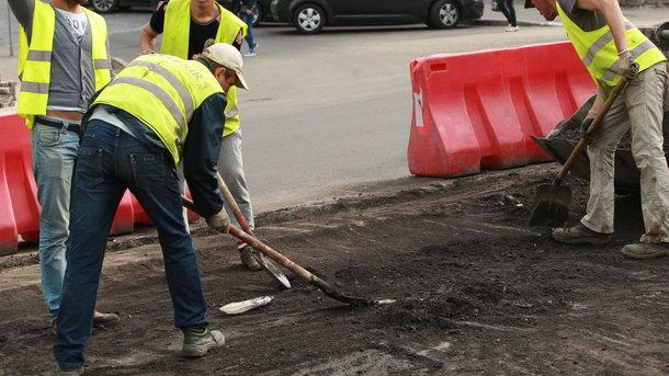 Отремонтировать дорогу своими руками