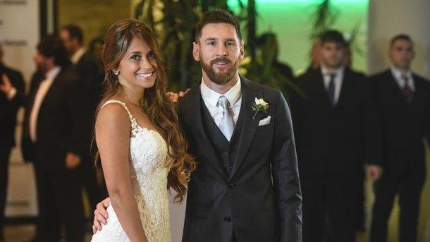 Лионель Месси женился вродном городе Росарио