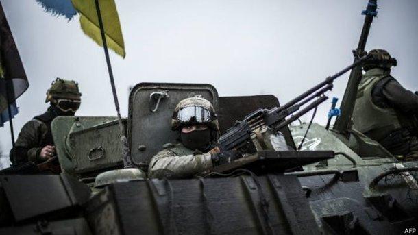 Силы АТО выбили боевиков иззахваченной «серой зоны» под Донецком