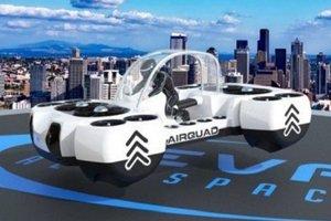 В Британии представили летающий электрокар из будущего