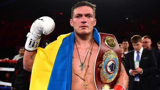 Усик прокомментировал свое участие в глобальной боксерской суперсерии