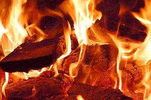 На пожаре под Одессой пострадали двое детей
