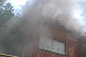 В центре Винницы 40 человек боролись с масштабным пожаром