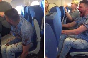 Пьяный россиянин устроил драку в самолете