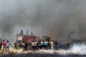 В Ливане пожар уничтожил лагерь сирийских беженцев, есть жертвы