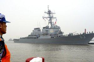 Китай обвинил США в нарушении суверенитета из-за эсминца в спорных водах