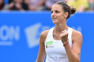 Каролина Плишкова возглавила Чемпионскую гонку WTA