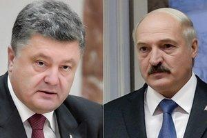 Порошенко поздравил Лукашенко с праздником