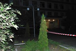 Взрыв прогремел возле отделения полиции в Черкассах