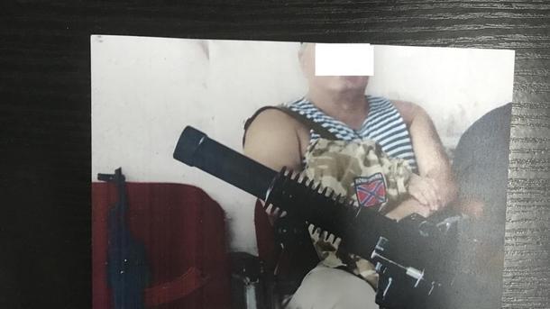 Таможенники задержали мужчину, причастного к преступным вооруженным формированиям наДонбассе